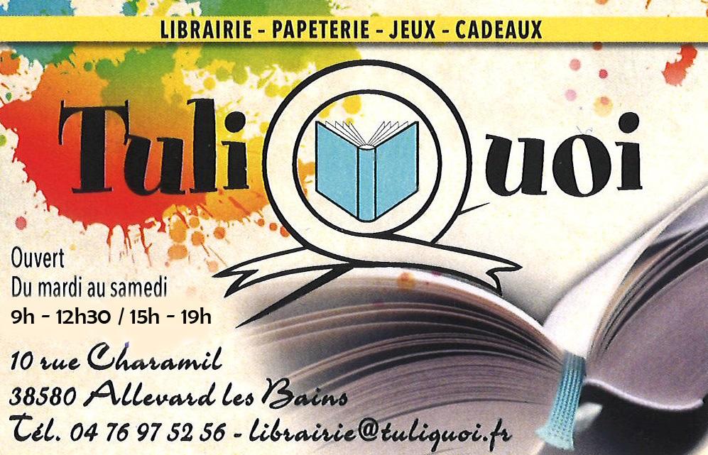 Librairie Tuliquoi