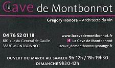 LA CAVE DE MONTBONNOT Montbonnot